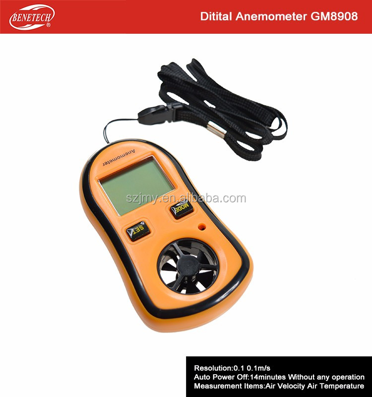 Low Price Anemometer GM8908 Mini Air Temperature Measurement Instrument