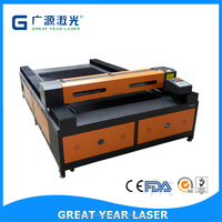 Updatest 1600*2500 Laser Cutter China For Acrylic PVC Plastic MDF Rubber Wood Laser Cut Wood Panel