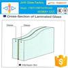 priced laminated glass for building&curtain wall