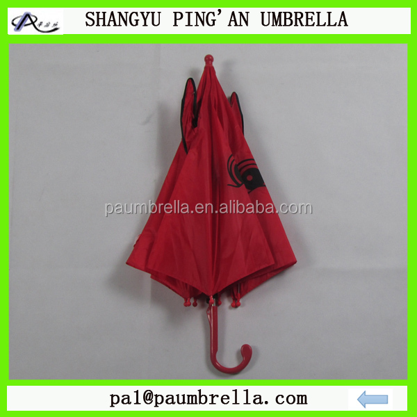 OEM wholesale cat design animal umbrella for kids umbrella with ears