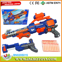 2015 new kids toy electric soft bullet gun toy nerf gun w/telescope