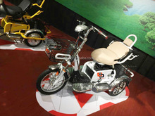 electric vehicles for disabled/ three wheel-bike tricycle/ adult tricycle with shopping basket