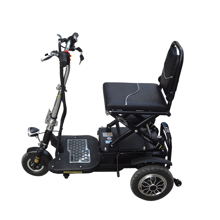 Wholesale 3 Wheel elderly folding electric gas power mobility scooter