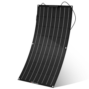 ETFE film monocrystalline silicon Flexible Solar Panel 100W for car for boat