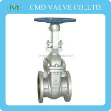 China Supplier 4 Inch 8 Inch API WCB Flange Wedge Carbon Steel Gate Valve Dwg For Oil Industry