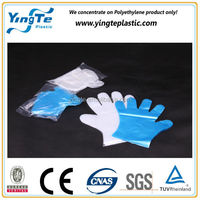 CPE/TPE/HDPE/LDPE Disposable Pe Plastic Gloves Biodegradable Gloves Medical hand Glove