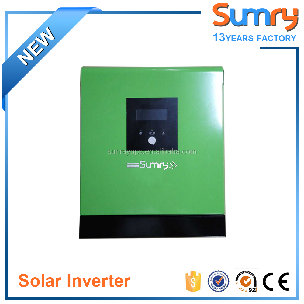 off grid high frequency modified sine wave hybrid solar inverter with 30A PWM solar controller inverter