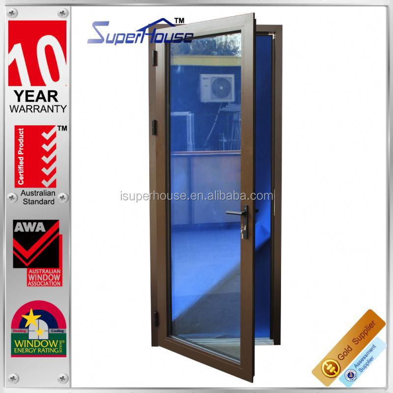 Superhouse 10 years warranty Australian and New zealand standard shop glass door