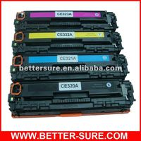 Premium Compatible Hp 320a Color Toner Cartridge Set CE321 CE322 CE323 for HP Colorpro CM1415fn/CM1415fnw