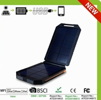 2015 Letsolar foldable cell phone solar charger for iphone 6 and samsung galaxy S6