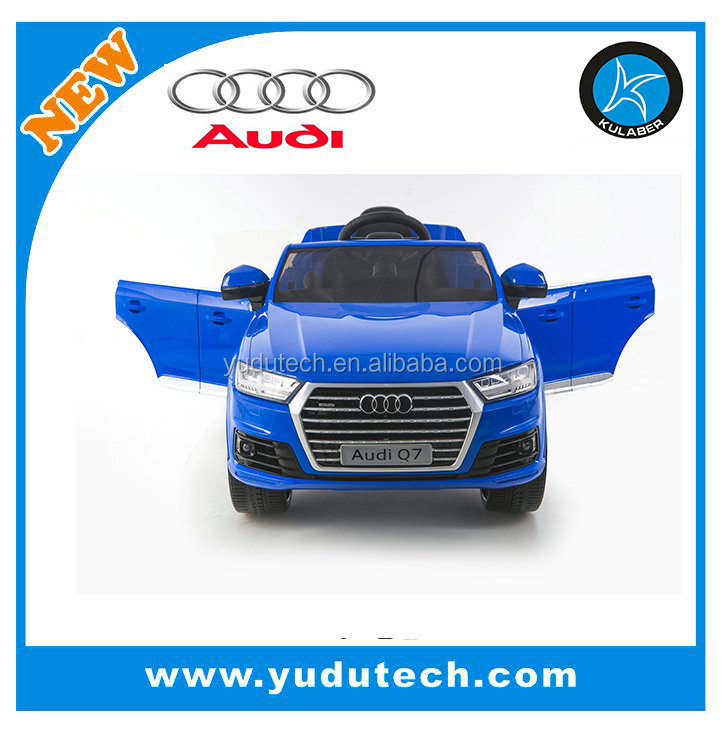 New Lisence Audi Q7 remote control baby electric car,kids battery powered Mp3 2.4G bluetooth remote control ride on cars