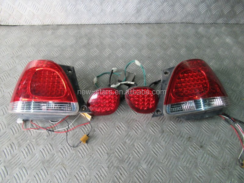 USED JDM Rear Taillights LED LIGHT for 98-02 Aristo GS300 GS400 JZS161 JZS160 V300
