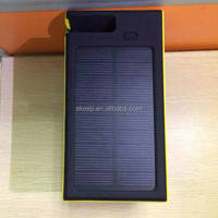 2015 new hot solar power bank ,mobile phone battery bank(VNPB-07)