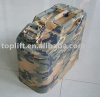 10L Horizontal-Type Galvanized Sheet Reserve jerry can