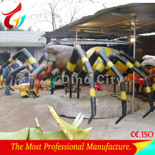 High Simulation Animatronic insect Spider Model For sale