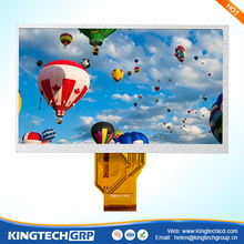 """ china Kingtech 7 inch 800x480 400cd / m2 capacitive touch screen"