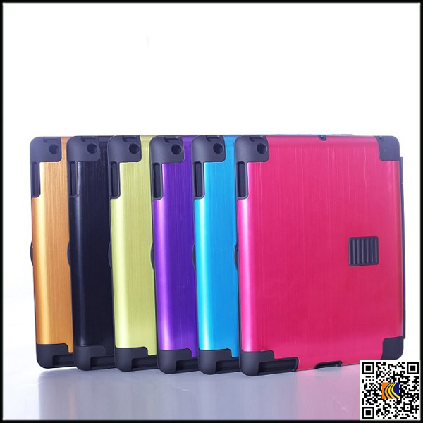 High Quality Back Cover Aluminum Metal case for ipad2 /3/4,Aluminum Metal case
