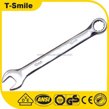 Professional tools drop forged carbon steel chrome plated combination wrench set