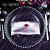 Elegant Decorative Wedding Events Lovely Pearl Charger Plate wholesale