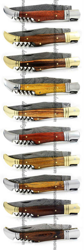 Damascus Steel Laguiole Knife DD-LAK-30