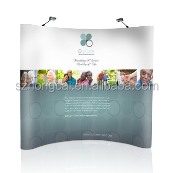 Aluminum pop up display