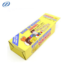 Custom kraft paper corrugated cardboard toys packing box