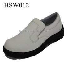 SY,Abrasion resistant low cut style anti-static non skid white food factory shoes/clean room shoes