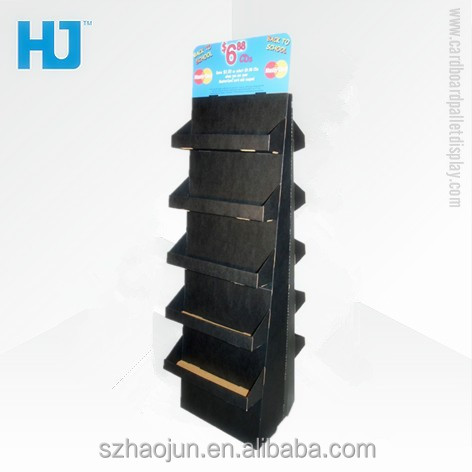 New Design POP Up Paper Pallet Display for Razor, Electronic Paper Display