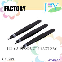Personalized Rubber Tipped Eyebrow Tweezers