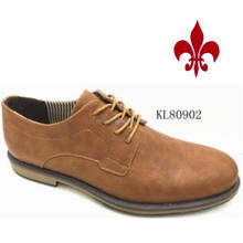 2016 I classic dress pu man shoes low price kl80902