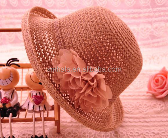 Cost price First Choice beautiful girl's cloche straw hat
