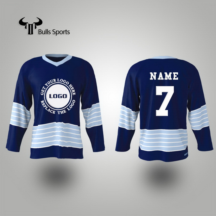 Manufacturer wholesale blank hockey jersey china high quality ice hockey jersey