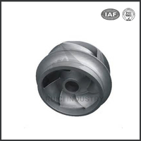 iron casting electric motor cooling impeller