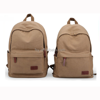 2016 New Men School Backpack Canvas Backpack vintage Travel Bag