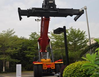 Sany 45 ton High Lift Hydraulic Container Reach Stacker for Sale