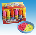 Fruity hard Candy pack in funny bottle for kid