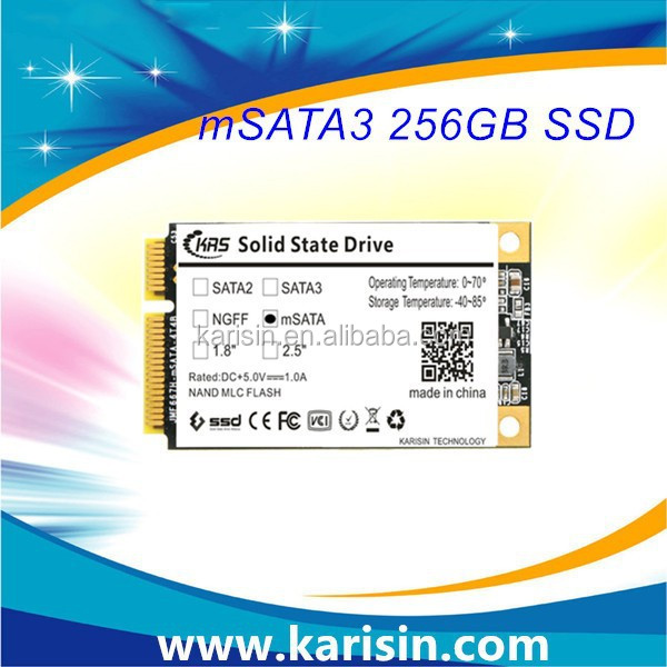 Internel ssd hard drive msata ssd 256gb computer parts