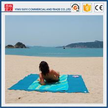 2017 Outdoor Picnic Mat Sandless Camping Rug Beach Blanket Sand Proof Blue