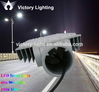 victory lighting multi leds bridgelux waterproof 150w led street light lens