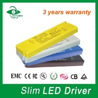 China manufacturer Supply UL TUV SAA approved super slim led driver for down light