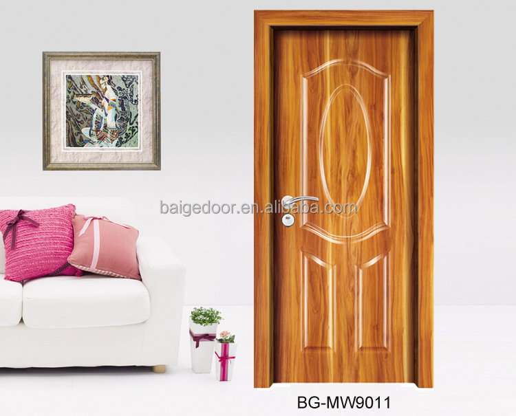 BG-MW9011 Hot Sale Flush Wooden Bedroom Door Designs