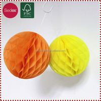 25cm Honeycomb Ball Alibaba Express Hanging Paper Decorations