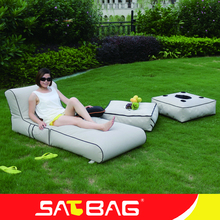 Waterproof outdoor bean bag lounger fabric sofa cover