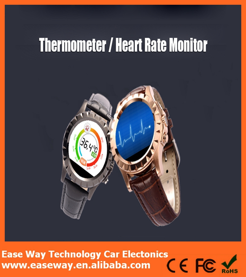 WP008 2015 new arrival watch phone avatar et-1i , phone call sleeping heart rate monitor wrist smart watch
