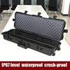 USA military grade Tricases OEM/ODM crushproof waterproof hard plastic rifle gun case
