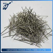 High Performance Fibres Price Corrugated Stainless Steel Fiber