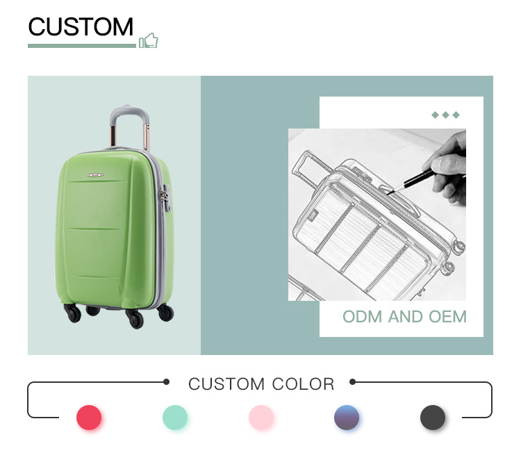 "19"" 23"" 27 Eco-friendly Low Price Innovative Trolley LuggageTravel Bags"