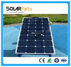 100W bendable sun power solar cells module for outdoor marine roof