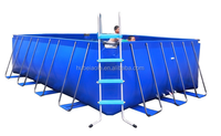 New family frame large plastic swimming pool for sales