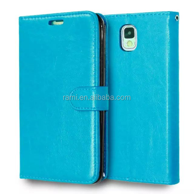 Unique Designed New Arrive Popular Leather Case for Samsung Galaxy Note 3